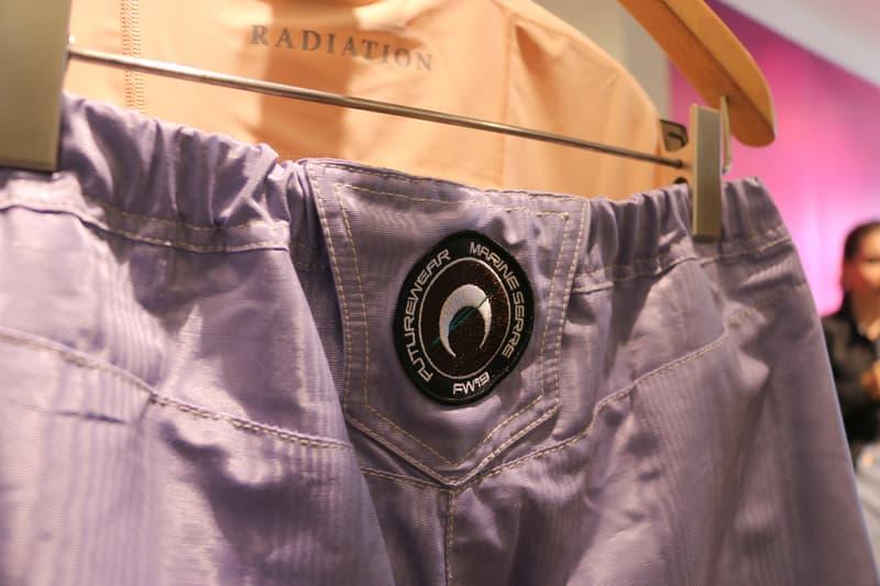 Joyce x Marine Serre Capsule Collection Hong Kong Pants Purple