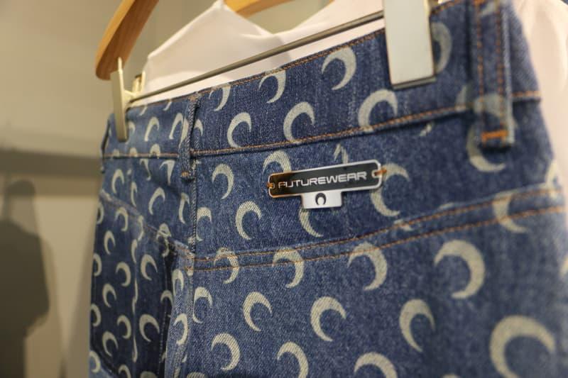 Joyce x Marine Serre Capsule Collection Hong Kong Pants Blue