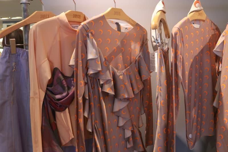 Joyce x Marine Serre Capsule Collection Hong Kong Tops Grey Pink