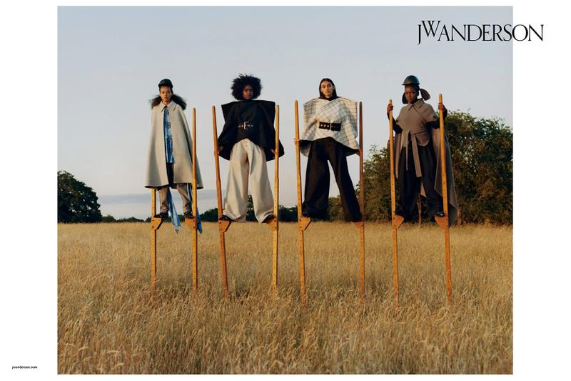 jw anderson womens fall winter campaign london flagship store tyler mitchell