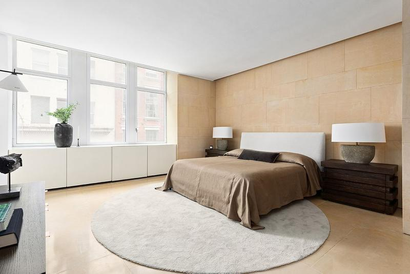 Kanye West Former SoHo New York City Apartment Bedroom
