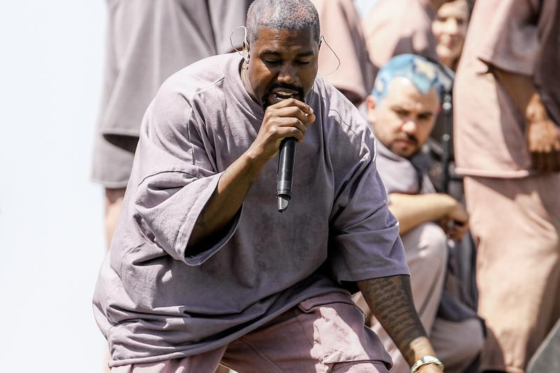 Kanye West Wyoming Sunday Service Public Event Album Release Event Singing Choir Songs Video