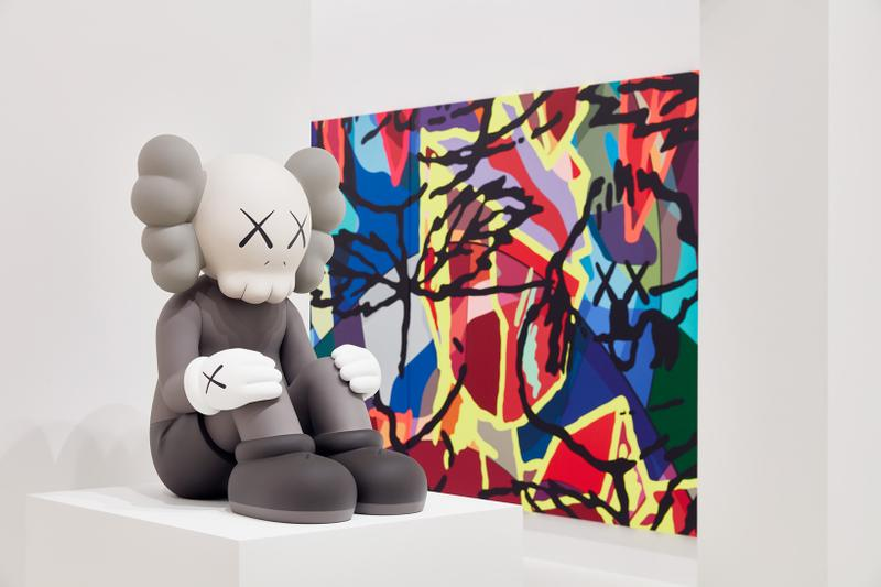 kaws companionship in the age of loneliness exhibition playtime pop up ngv melbourne brian donnelly bronze sculpture