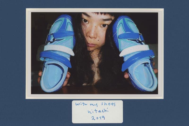 kiko Kostadinov asics gessirit sneaker collaboration lookbook