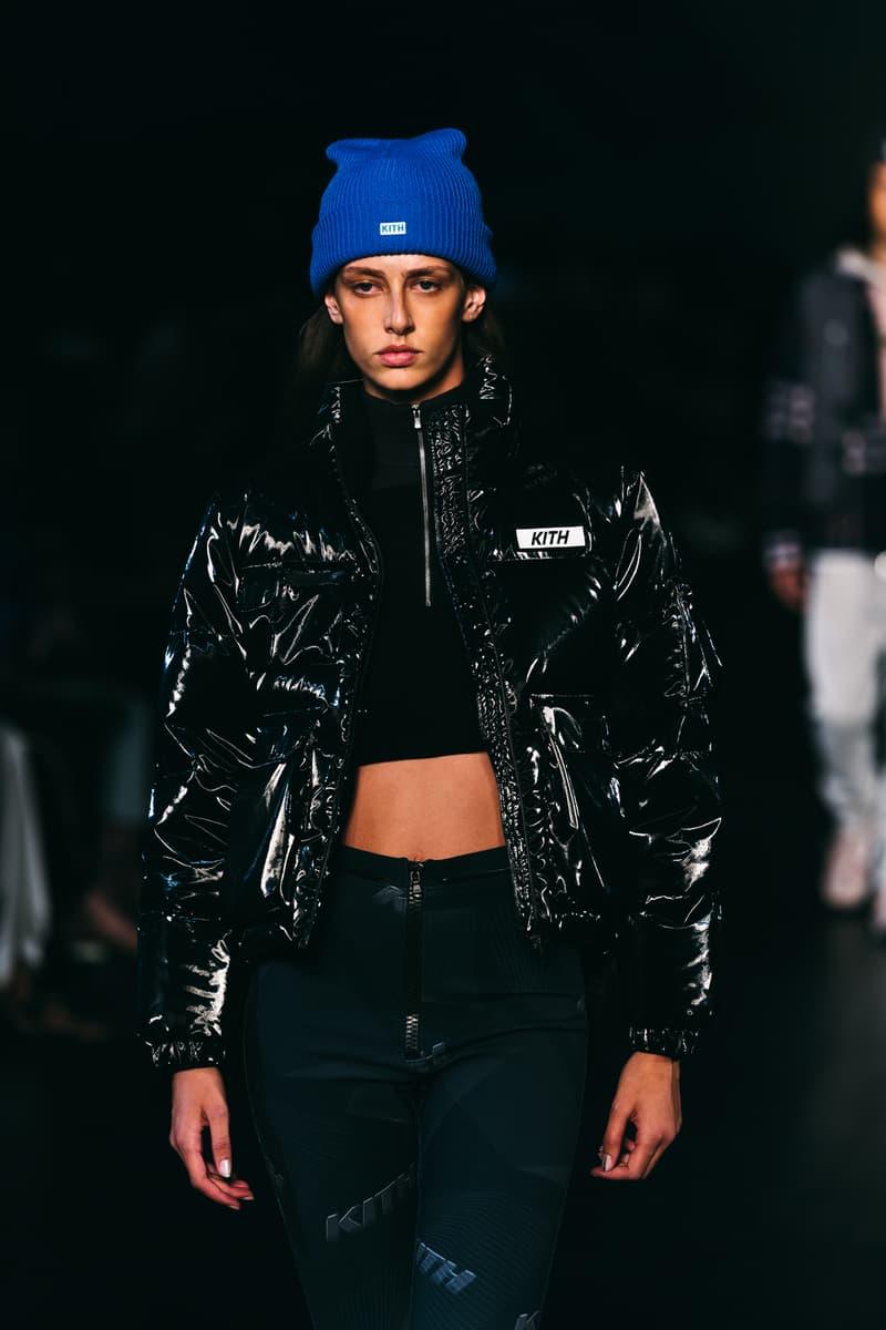 kith beanie puffer jacket