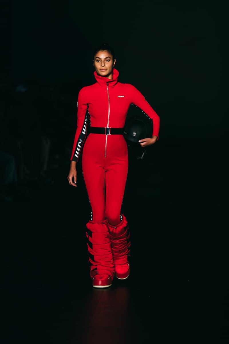 kith runway bodysuit moon boots tecnica