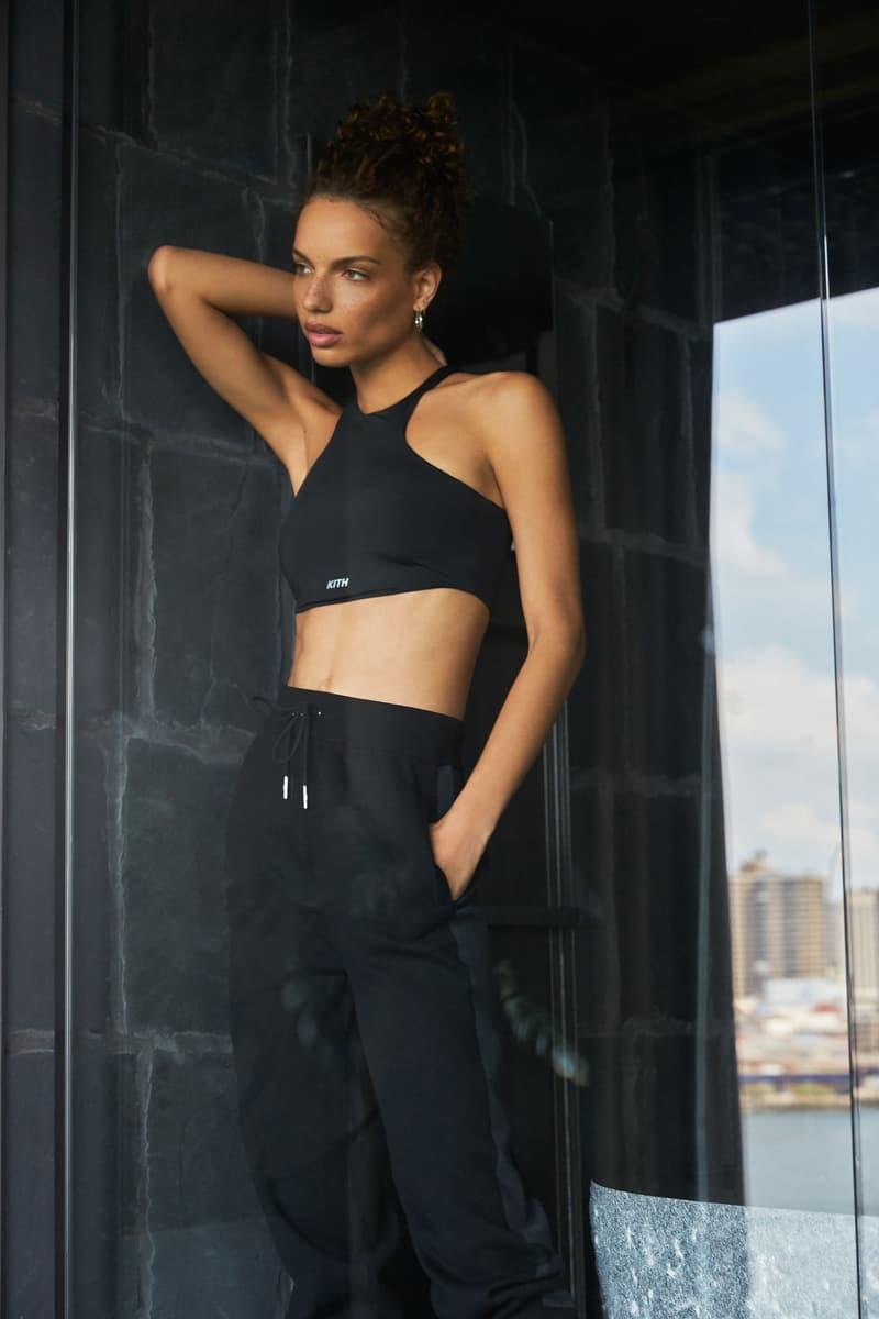 KITH Women Fall 2019 Collection Drop 1 Sports Bra Sweatpants Black