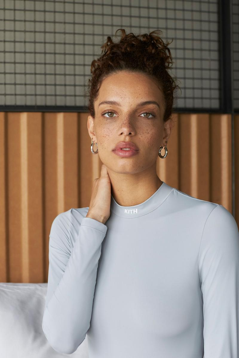 KITH Women Fall 2019 Collection Drop 1 Bodysuit Grey