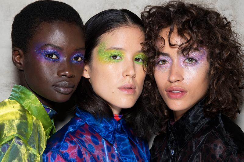 London Fashion Week SS20 Hair Beauty Makeup Trends Spring Summer 2020 Halpern Marques Almeida House of Holland Isamaya Ffrench Adam Reed ghd