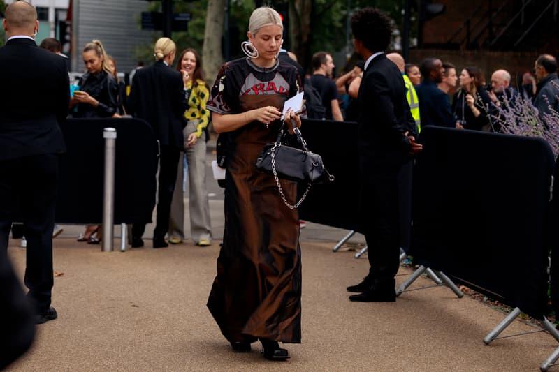 Best London Fashion Week SS20 Street Style Looks Jisoo Peggy Gou Off Duty Models Outfits LFW Spring Summer Adwoa Aboah Jourdan Dunn Jorja Smith