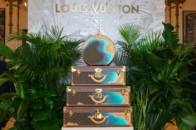 Louis Vuitton Hard Sided Trunks Preview Entrance