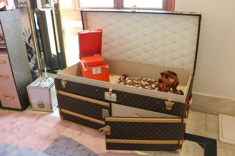Louis Vuitton Hard Sided Trunks Preview Suitcase Brown