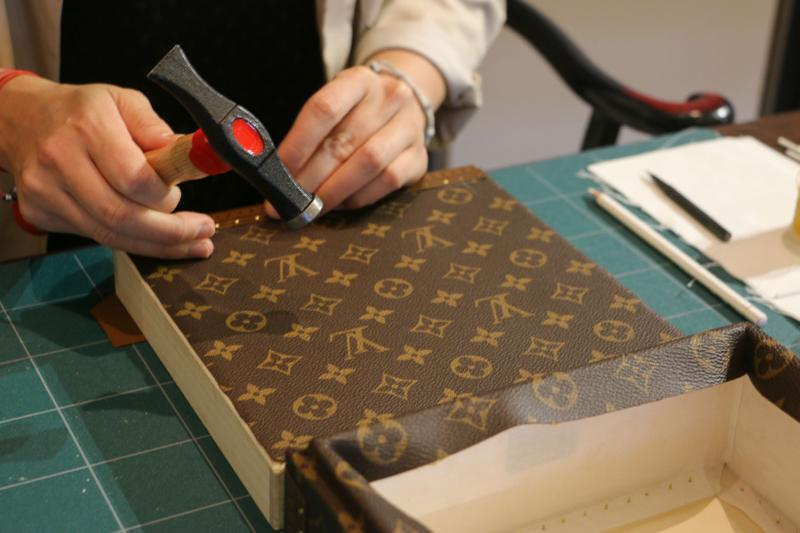 Louis Vuitton Hard Sided Trunks Preview Logo Case Brown