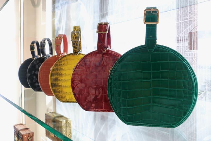 Louis Vuitton Hard Sided Trunks Preview Circle Handbags Pink Green Orange