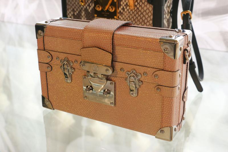 Louis Vuitton Hard Sided Trunks Preview Handbag Brown