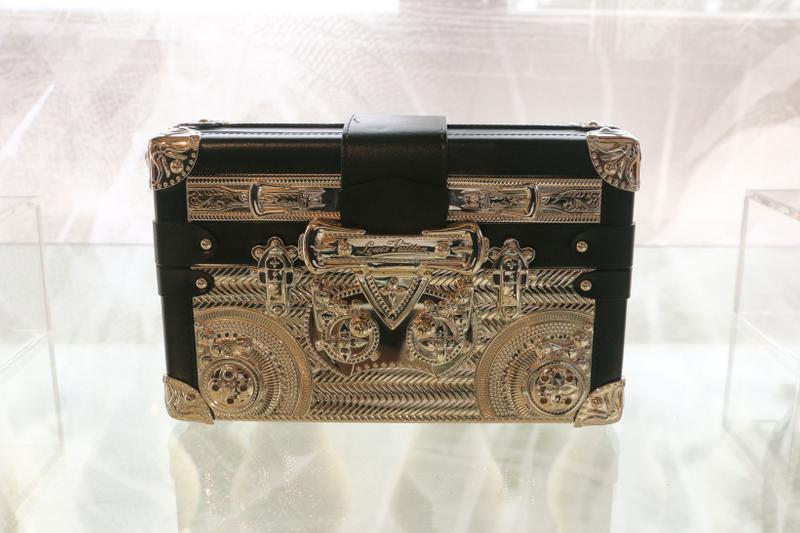 Louis Vuitton Hard Sided Trunks Preview Handbag Black