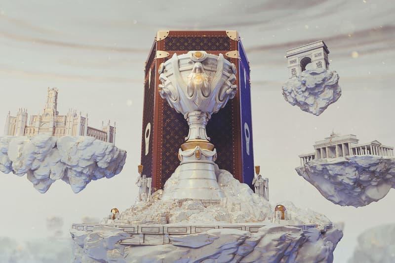 louis vuitton league of legends riot games collaboration world championship nicolas ghesquiere video games