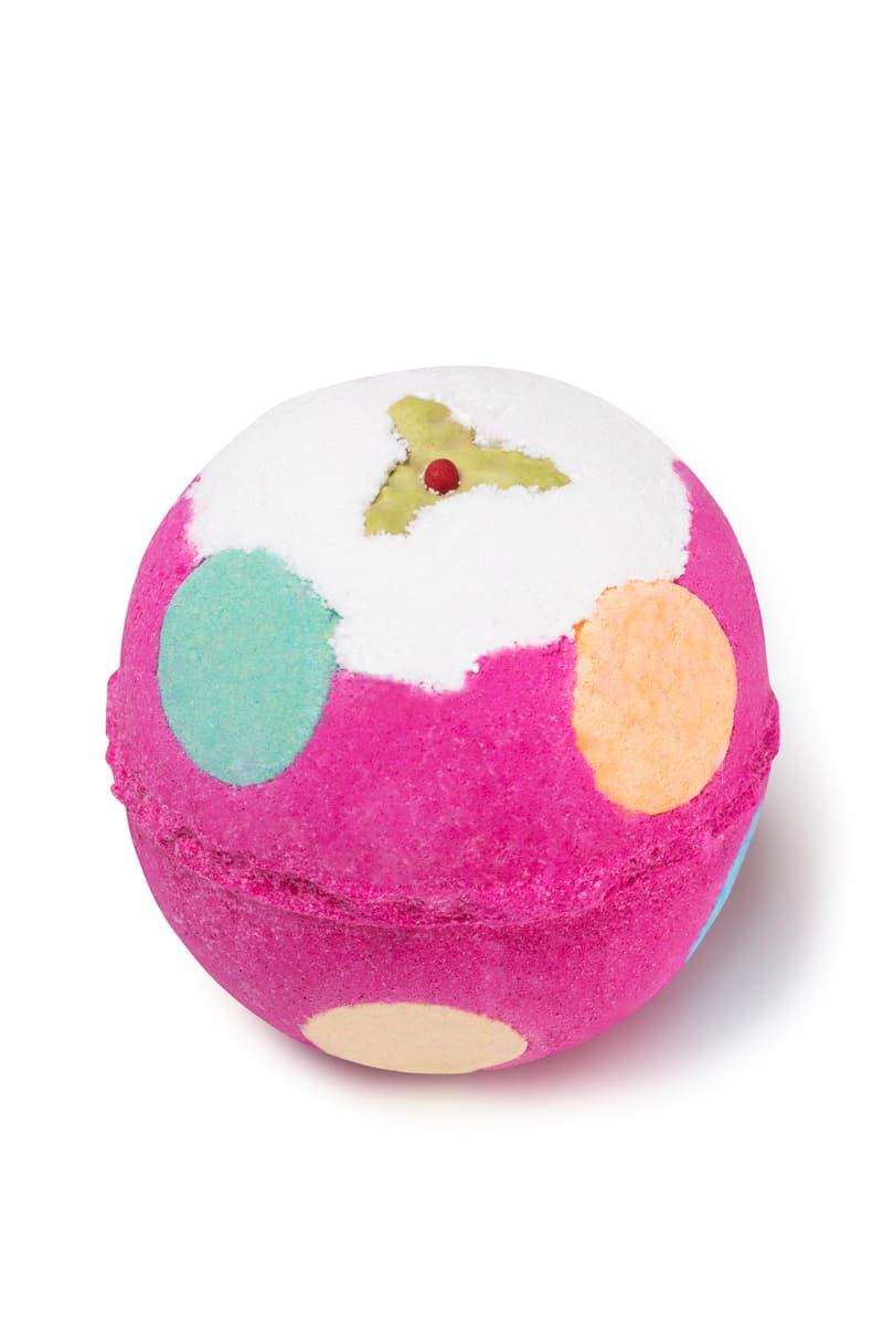 Lush Christmas Bath Bomb Collection Santa Beauty Reindeer Winter Candy Cane