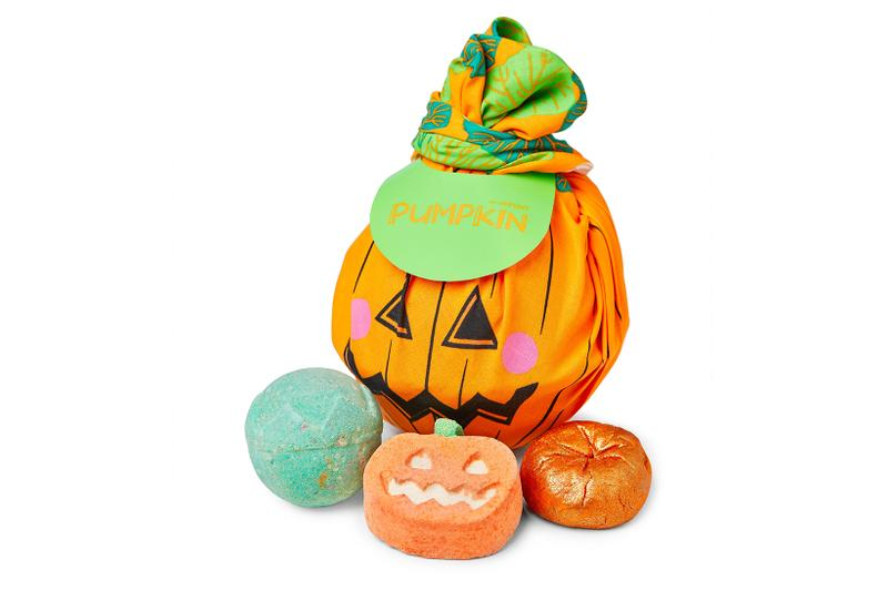 Lush Halloween Products Bath Bomb Bubble Bar Shower Slime Pumpkin Lip Scrub Ghost Cat Shaped