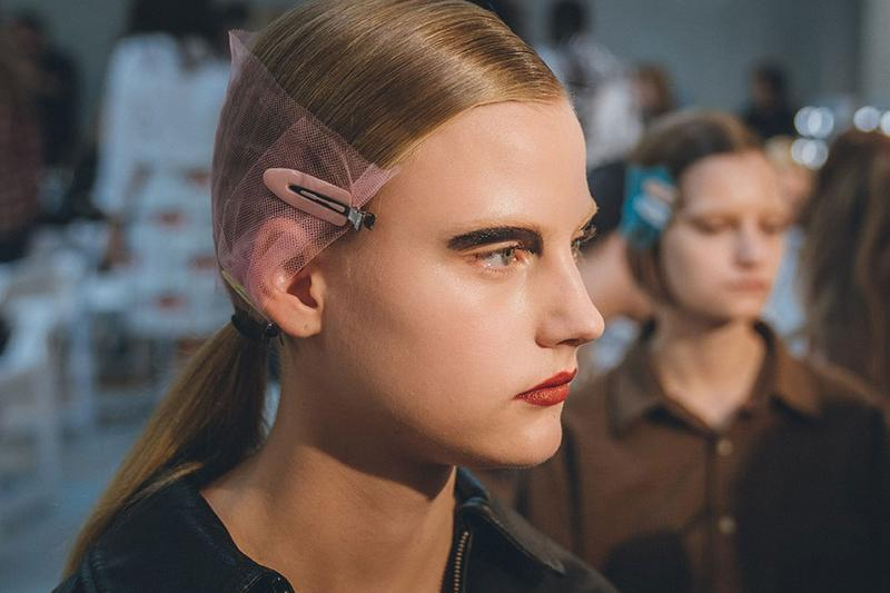 best beauty makeup hair looks milan fashion week mfw spring summer 2020 prada mm6 maison margiela max mara