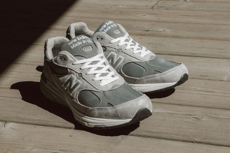 new balance 993 mr993gl sneakers grey release shoes footwear
