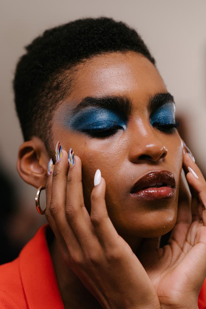 new york fashion week nyfw spring summer 2020 makeup hair trends kith vogue jeremy scott masur gavriel tomo koizumi chromat sies marjan tommy hilfiger lancome igk zendaya laquan smith khaite bevza priscavera