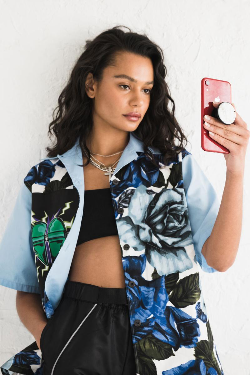 Sam Swan New York Fashion Week Photo Diary PopSockets PopMirror