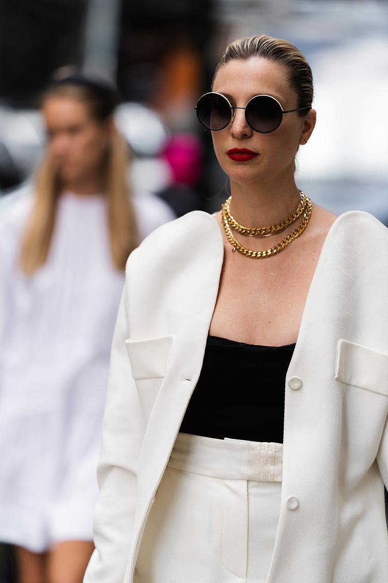 new york fashion week spring summer 2020 street style streetsnap fashion outfits