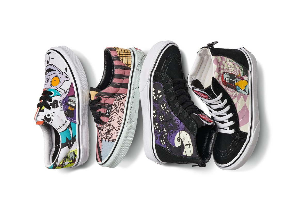 Vans Christmas Collection 2020 The Nightmare Before Christmas x Vans Collaboration | HYPEBAE