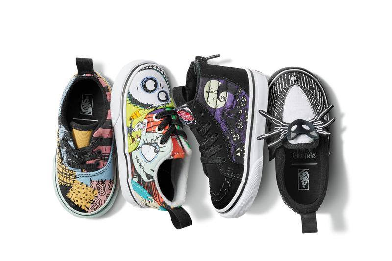 The Nightmare Before Christmas x Vans Collaboration Release Date Teaser Collection Disney