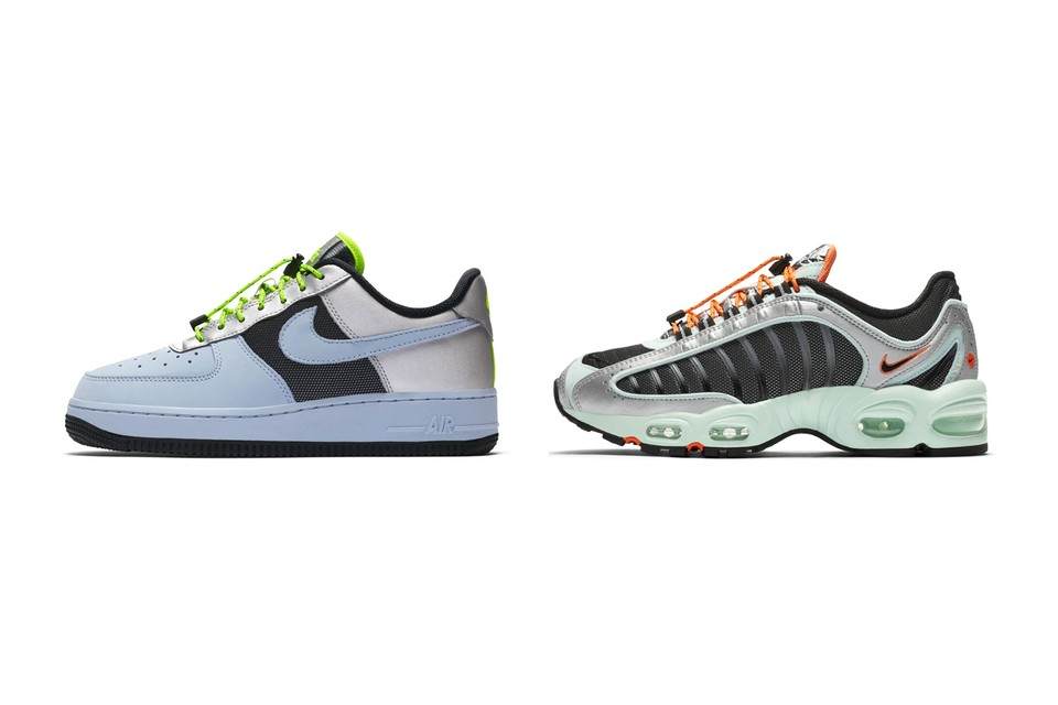 Nike Unveils New Futuristic Colorway on the Air Force 1 and Air Max Tailwind IV