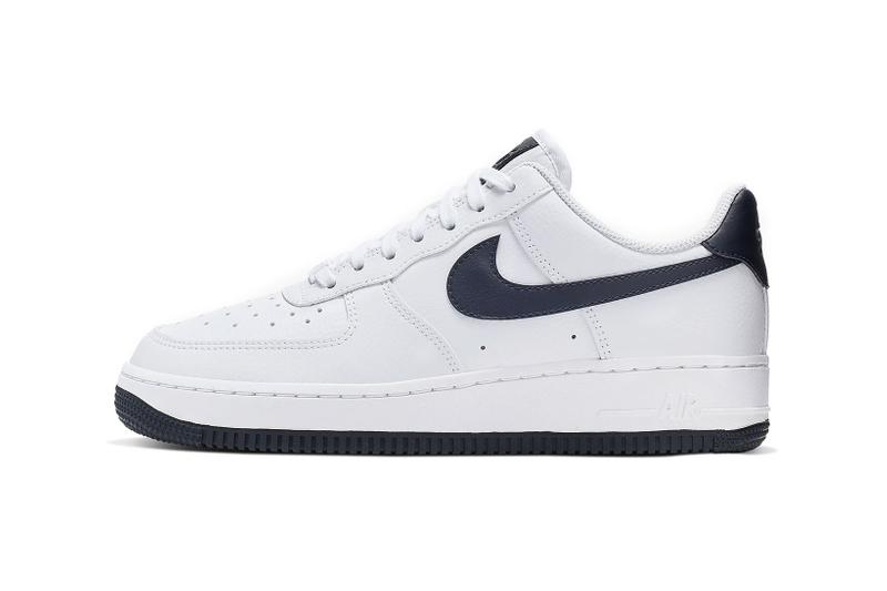 really cheap utterly stylish 50% off Nike's Air Force 1 '07 in Navy Blue | HYPEBAE