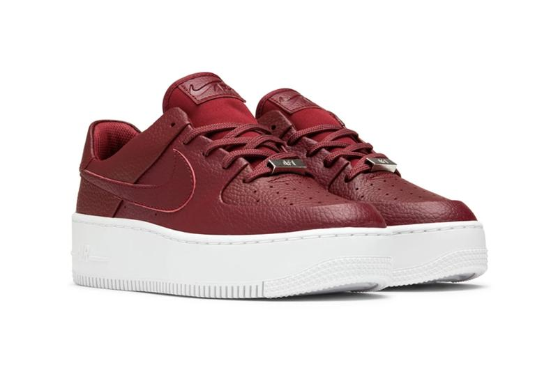 Nike Air Force 1 Sage Low Team Red White