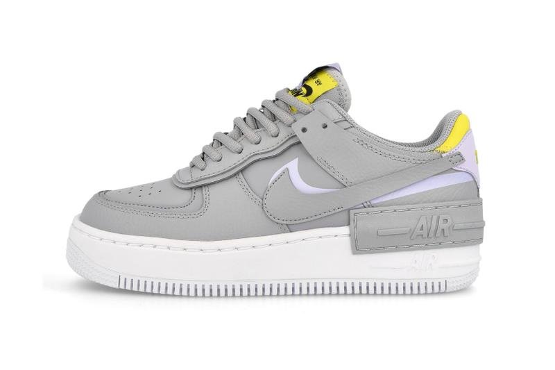 Nike Air Force 1 Shadow Wolf Grey Lavender Mist