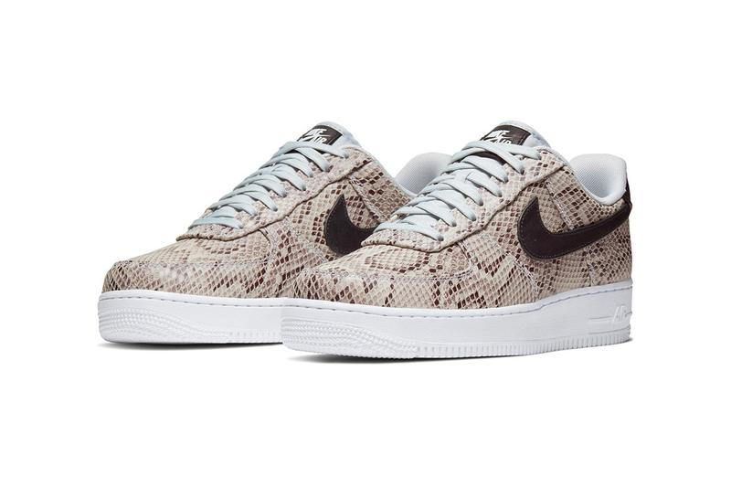 Nike Air Force 1 Snakeskin Brown White