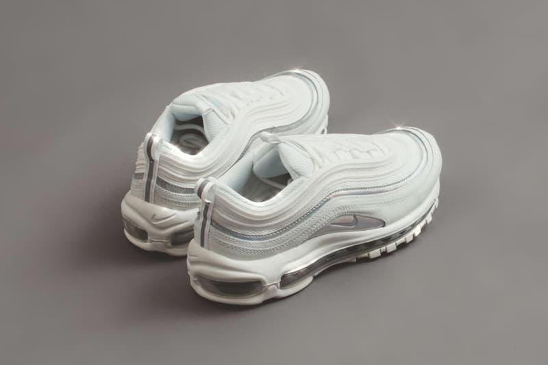 Sala Basura Compulsión  Nike Air Max 97 White Iridescent Sneaker Release | HYPEBAE