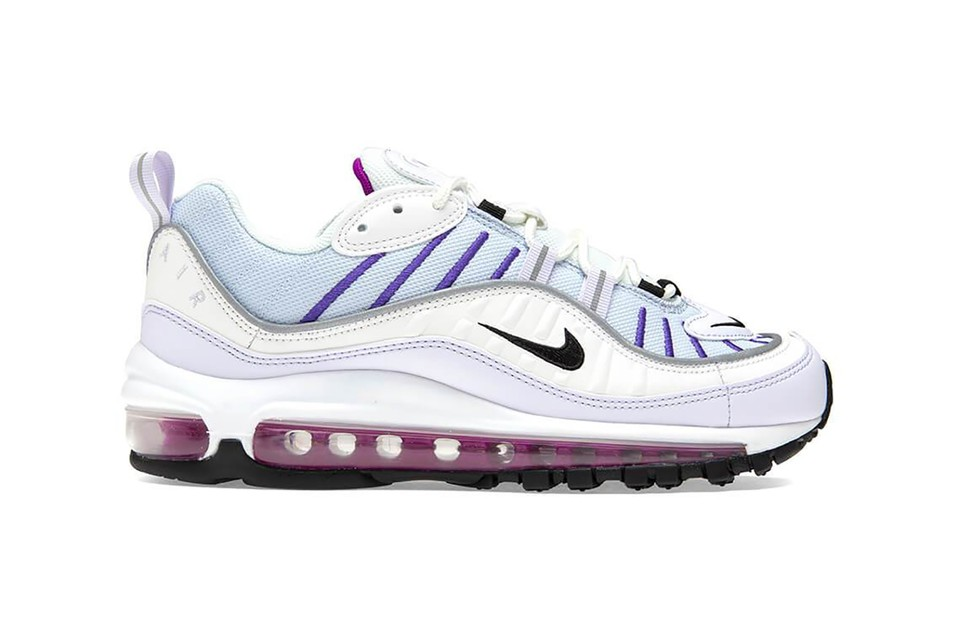 Nike's Latest Air Max 98 Arrives With Purple and Pink Accents