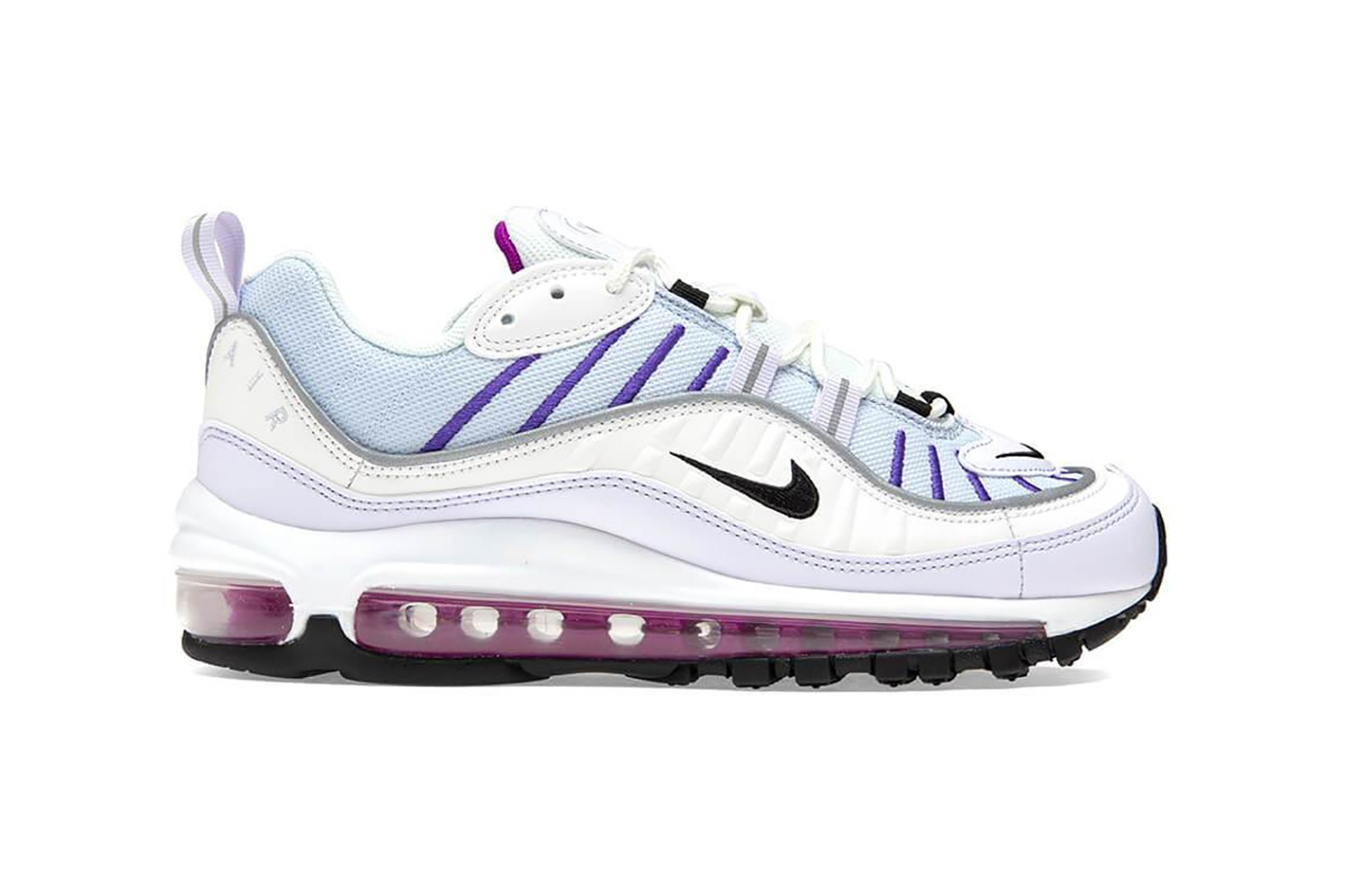 nike air max grey and purple