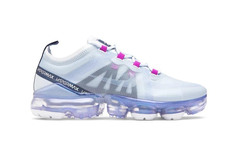 nike air vapormax womens sneakers lilac purple blue white footwear shoes sneakerhead