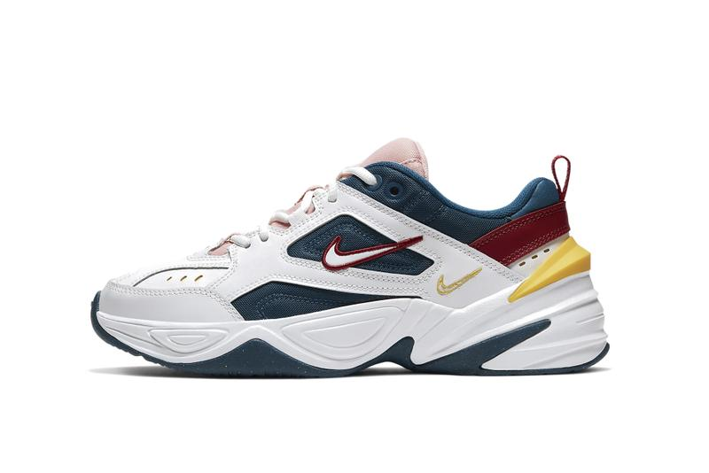 "Nike M2K Tekno ""Blue Force/Chrome Yellow"" Sneaker Trainer Footwear Silhouette Chunky Shoe"