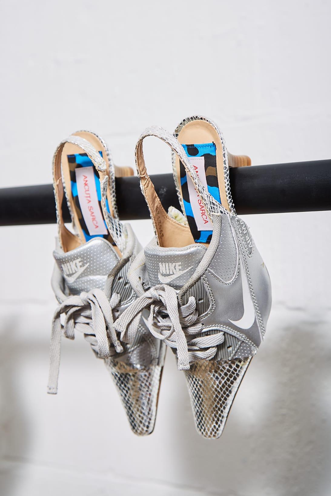 Nike Sneaker Kitten Heel Hybrid Shoes