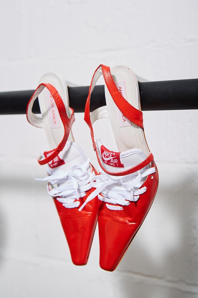 Nike Sneaker Kitten Heel Hybrid Shoes Ancuta Sarca Where to Buy