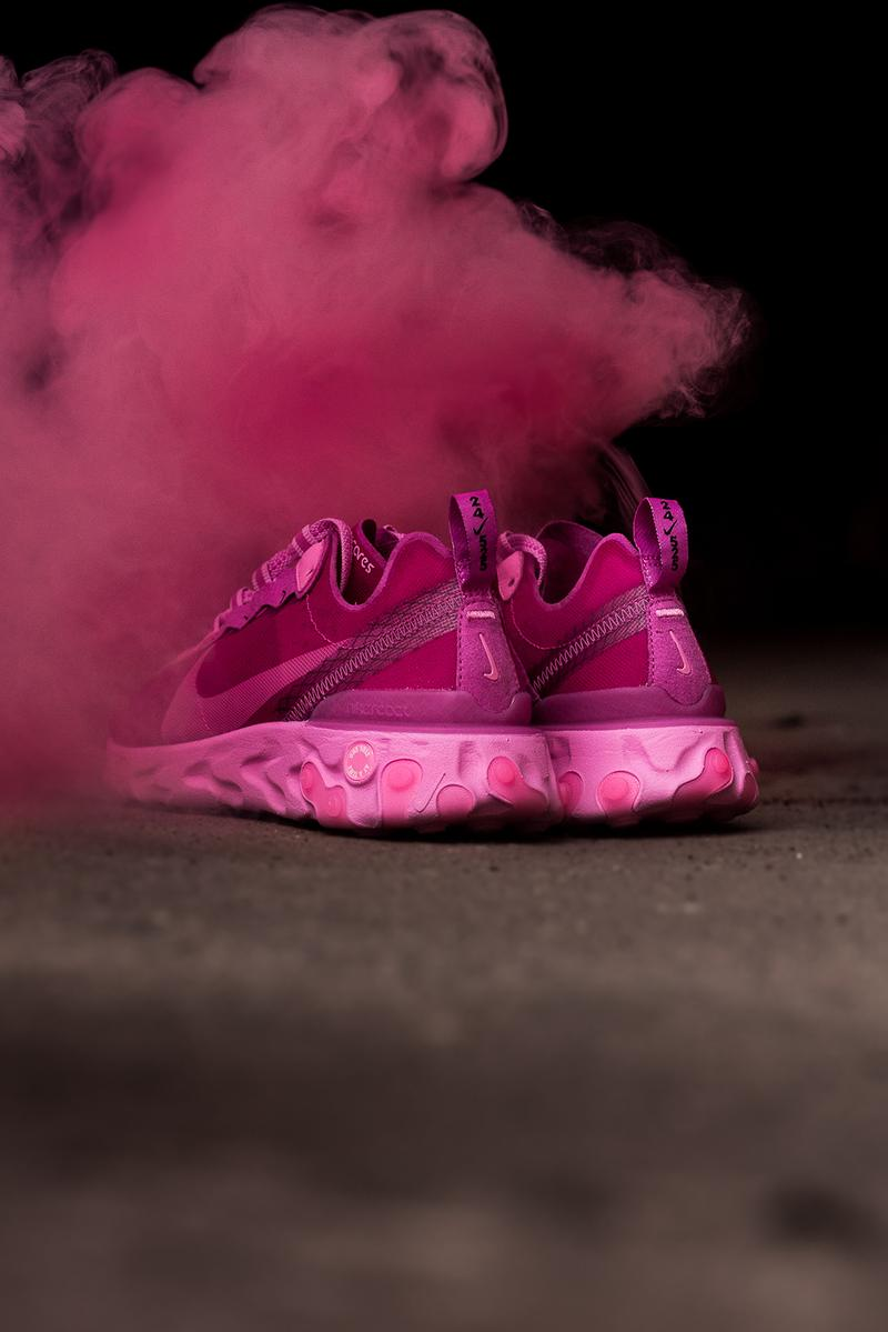 nike sneaker room breast cancer awareness react element 87 pink womens sneakers october