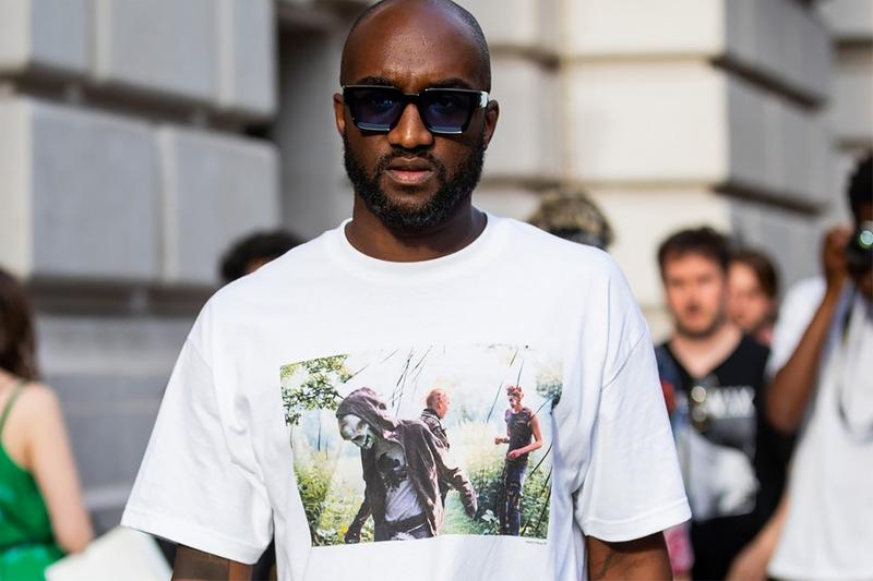 Virgil Abloh T Shirt White Sunglasses Black