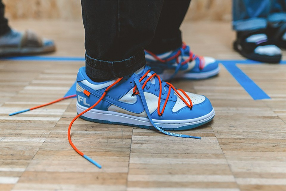 Here's a First Look at the Third Potential Off-White™ x Nike Dunk Low Colorway