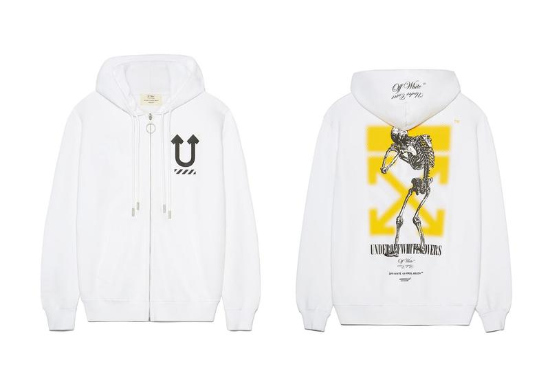 Off-White™ x UNDERCOVER Collaboration Release Date Drop Collection T-Shirt Hoodie Print