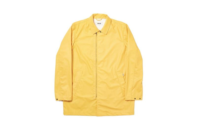 Palace Fall Winter 2019 Collection Jacket Yellow