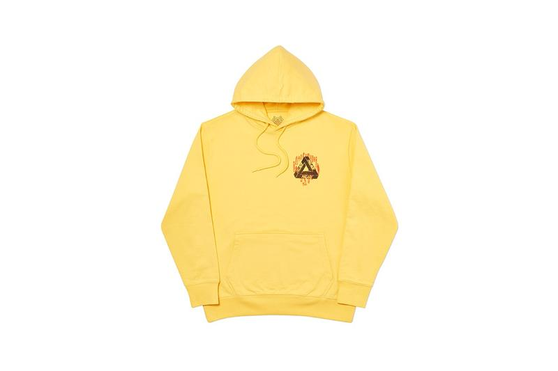 Palace Fall Winter 2019 Collection Hoodie Yellow