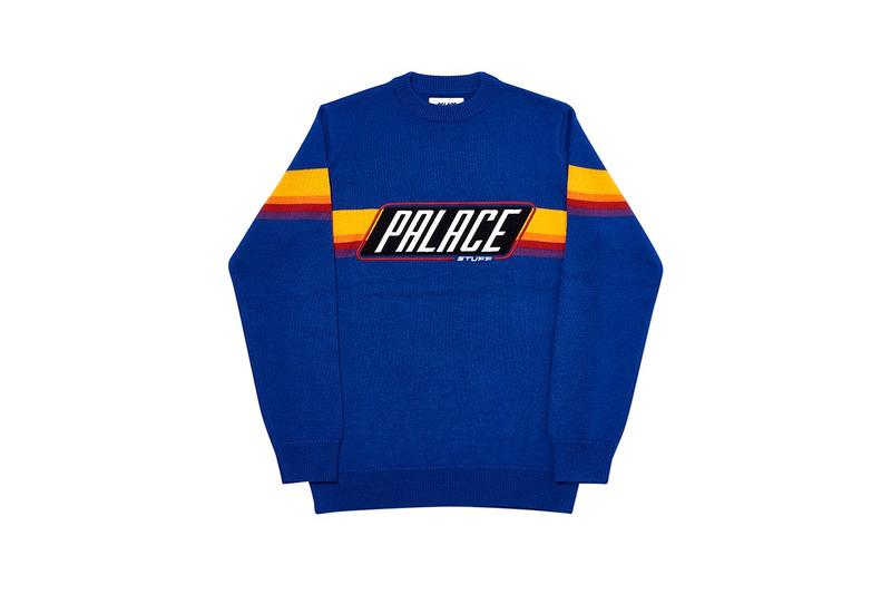 Palace Fall Winter 2019 Collection Sweater Blue