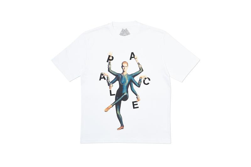 Palace Fall Winter 2019 Collection T Shirt White